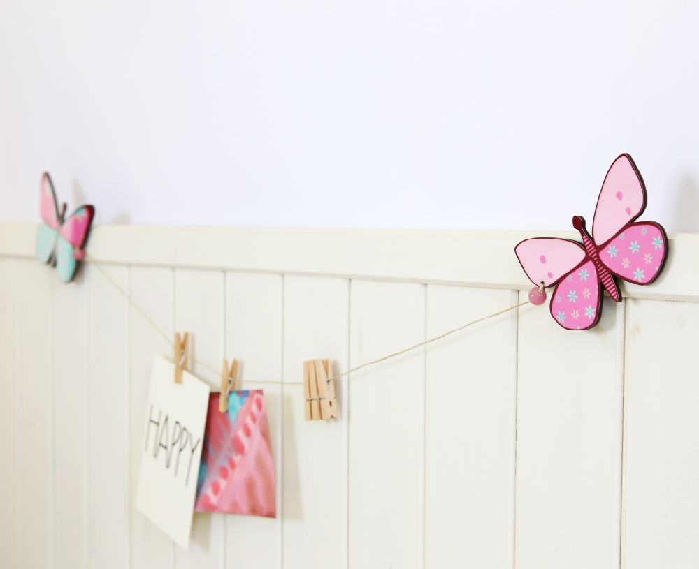 Butterfly nursery decor