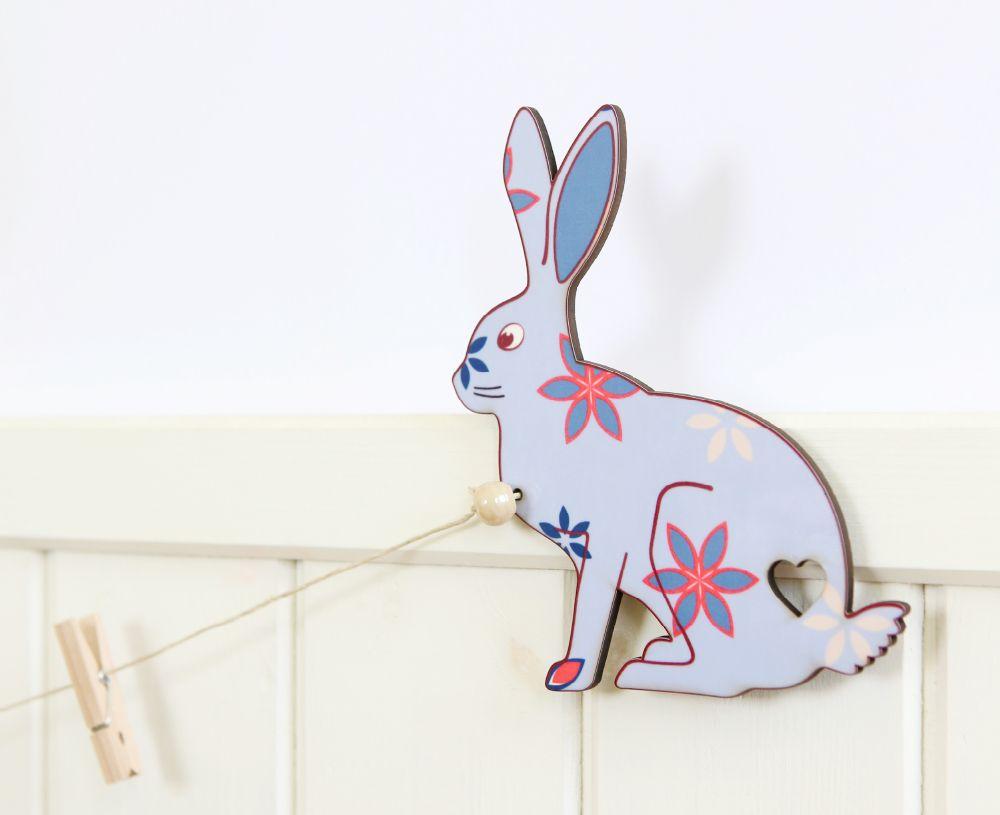 Rabbits art gallery display hanger