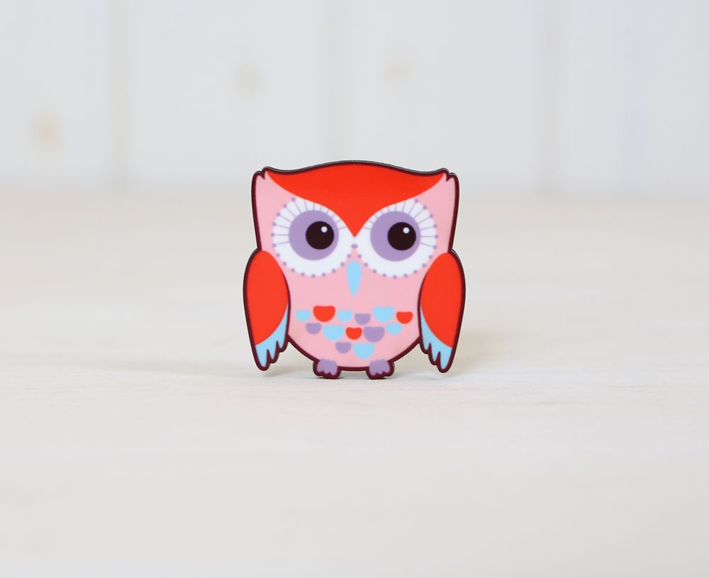 Sweet owl magnets