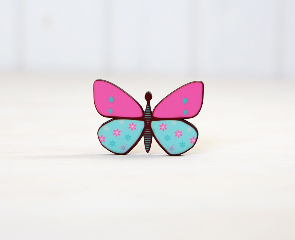 Sweet butterfly magnets