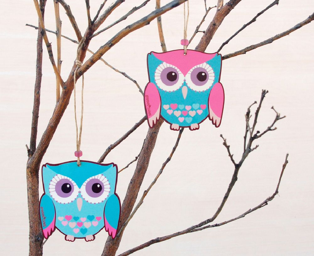 Two owls decor