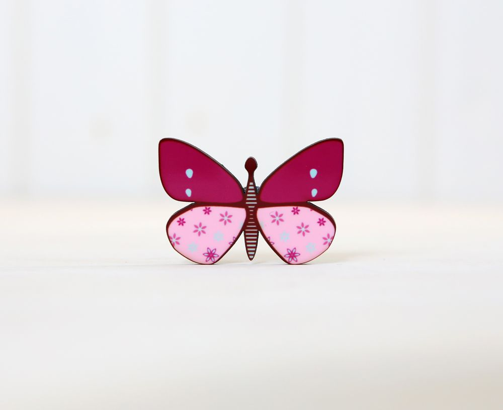 Butterflies - Refrigerator magnets